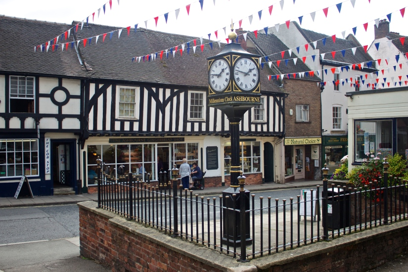 Ashbourne United Kingdom  City pictures : Ashbourne high street. Ashbourne is the southern tip of the Peak ...