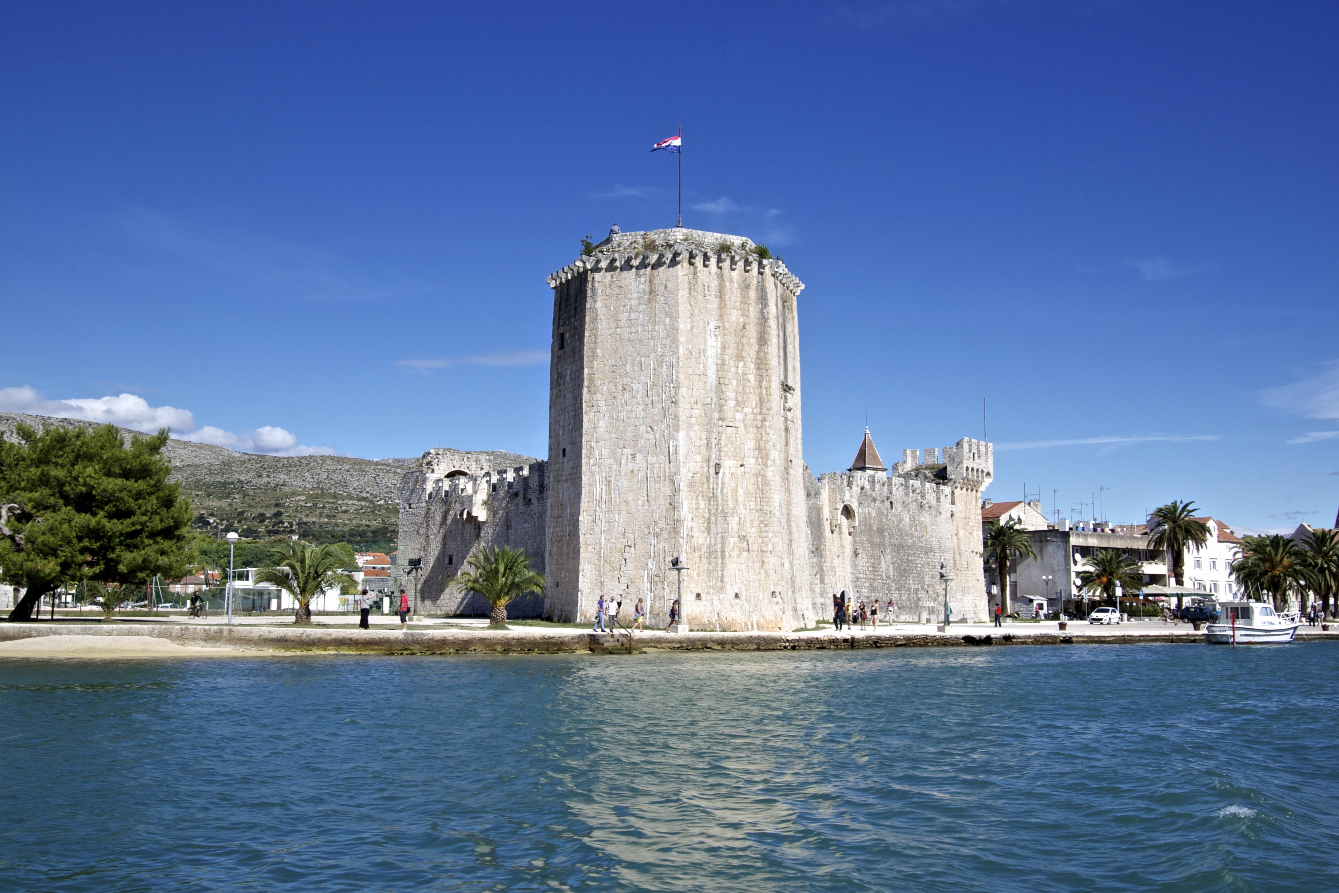 Trogir Croatia Images Of A Tourist